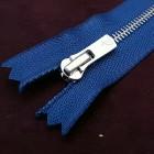 Молния YKK Excella single №2  20 см. антиникель синий цвет.