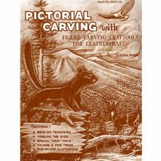 Книга (на бумажном носителе) Pictorial Carving Book на английском языке 16 страниц.