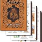 Книга (на бумажном носителе) Fiebings Fantastic Finishes на английском языке 20 страниц.