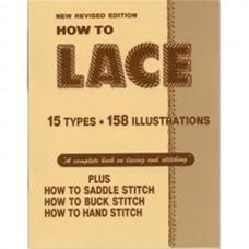 Книга (на бумажном носителе) How to lace на английском языке 14 страниц.
