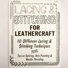 Книга (на бумажном носителе) Lacing & Stitching for leathercraft на английском языке 20 страниц.