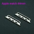 Фурнитура - коннекторы PREMIUM для Apple watch 44 мм. Цвет серебро.