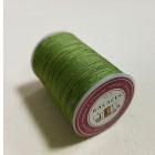 Нитки для кожи GALACES 0.5 мм. 100 ярдов. плетёные вощёные. Зелёный.