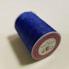 Нитки для кожи вощёные GALACES 0.5 мм. 120 м. плетёные круглые. Синий.
