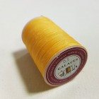 Нитки для кожи GALACES 0.5 мм. 100 ярдов. плетёные вощёные. Жёлтый.