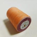 Нитки для кожи GALACES 0.5 мм. 100 ярдов. плетёные вощёные. Оранжевый.