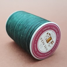 Нитки для кожи вощёные GALACES 0.5 мм. 120 м. плетёные круглые. Зелёный.