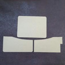 Шаблон трафарет (выкройка) из оргстекла для изготовления кардхолдера 100х75 мм.