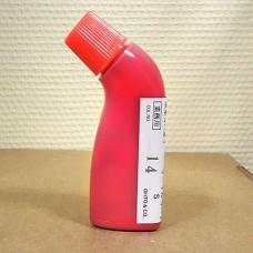 Профессиональная водостойкая краска для уреза с аппликатором Basco, красный 80 мл.
