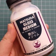 Агент матирующий для кожи. Усиливает матовость красок и финишей, 130 мл. Matsuda.