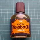 Масло копытное высокой очистки NeatsFoot Oil Craft Sha 100 мл.