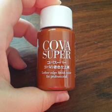 Краска для уреза/росписи кожи японская Cova Super, коричневый 30 гр.