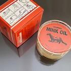 Масло нутряное (mink oil) для ухода за изделиями из кожи 45 грамм.