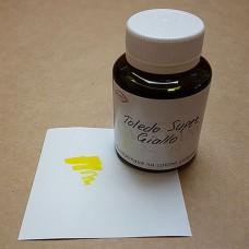 Краска для кожи жидкая TOLEDO SUPER с анилиновым эффектом цвет жёлтый 100 гр. Kenda Farben.