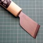 Нож шпальтовочный (скребок для мездры) японское смещённое лезвие Kyoshin Elle 36 мм.