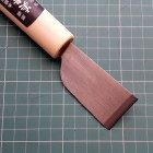 Нож шпальтовочный (скребок для мездры) японская форма лезвия Kyoshin Elle 36 мм.