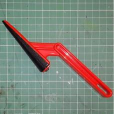 Шкурка - приспособление для подготовки уреза к нанесению грунта/краски. Конус.