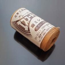 Нитки для шитья кожи, традиционные японские РАМИ-ЭКО вощёные - 150 метров №20/3. Бежевый.