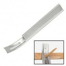 Бевеллер - нож для срезания кромки + 1 лезвие. Серебряный цвет Osborne.
