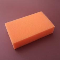 Спонж для нанесения химии - губка для аппретуры, краски, финиша 55х90х150 мм.
