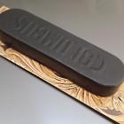 Японский модифицированный воск, специальный для уреза кожи Columbus чёрный.