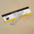 Иглы для кожи - набор из 2 игл с затупленными кончиками, для седельного шва. John James Saddlers Harness 002.