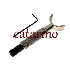 Поворотный нож - резец для карвинга по коже Kyoshin Elle - M в блистере.