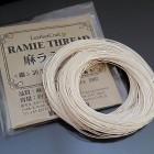 Нитки для шитья кожи, традиционные японские РАМИ-ЭКО  - 45 метров. № 40/3.