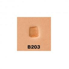 """Штамп для тиснения по коже """"Бевелер  B203"""" 4х5 мм."""