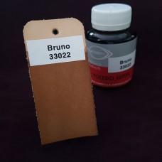 Краска для кожи жидкая TOLEDO SUPER с анилиновым эффектом 100 мл. коричневый.