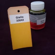 Краска для кожи жидкая TOLEDO SUPER с анилиновым эффектом 100 мл. жёлтый.