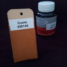 Краска для кожи жидкая TOLEDO SUPER с анилиновым эффектом 100 мл. светло-коричневый.