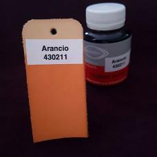 Краска для кожи жидкая TOLEDO SUPER с анилиновым эффектом 100 мл. оранжевый.