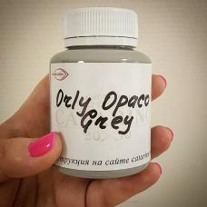 Краска для уреза кожи полиуретановая ORLY-OPACO цвет матовый серый 100 гр. Kenda Farben.