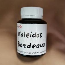 Краска для кожи KALEIDOS повышенной укрывистости, цвет бордовый 100 гр.