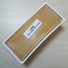 """Воск карнаубский в бруске KENDA FARBEN для финишной обработки кожи, """"Cera Carnauba Flores"""" 340 грамм."""