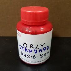 Краска для уреза кожи полиуретановая ORLY глянцевая, цвет красный (rosso base) 100 гр.