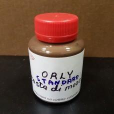 Краска для уреза кожи полиуретановая ORLY глянцевая, цвет тёмно-коричневый 100 гр.