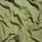Замша велюр козлёнок высший сорт. Около 0.4 мм. 47 дец. Pistachio.