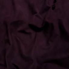 Замша велюр козлёнок высший сорт. Около 0.4 мм. 42 дец. Bordeaux.