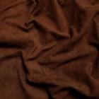 Замша велюр козлёнок высший сорт. Около 0.4 мм. 50 дец. Brown.