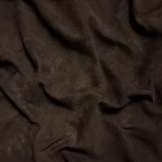 Замша велюр козлёнок высший сорт. Около 0.4 мм. 64 дец. Dark brown.