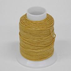 Нитки для шитья кожи, традиционные японские РАМИ-ЭКО  - 90 метров. № 16/4. Camel.
