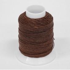 Нитки для шитья кожи, традиционные японские РАМИ-ЭКО  - 90 метров. № 16/4. Красно-коричневый.