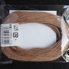 Нитки для шитья кожи, традиционные японские РАМИ-ЭКО вощёные - 30 метров, 20/3 Medium, бежевый цвет.
