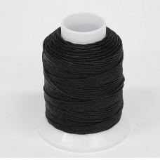 Нитки для шитья кожи, традиционные японские РАМИ-ЭКО  - 90 метров. № 16/4. Чёрный.