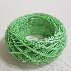 SLAM нитки для кожи. 30 м. 0.6 мм. Цвет - фисташковый.