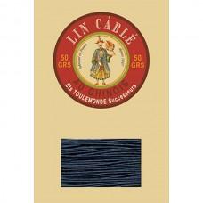 Нитки для кожи льняные FIL AU CHINOIS 0.77 мм. 10 метров. Цвет 266 - Blue.
