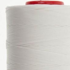 Нитки для кожи Ritza Tiger 1 мм. 30 метров, 100% полиэстер. Цвет JK01 - White.