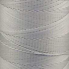 Нитки для кожи Ritza Tiger 1 мм. 30 метров, 100% полиэстер. Цвет JK100 - Silver.